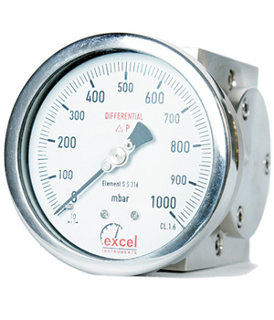 Single Diaphragm Differential Pressure Gauges