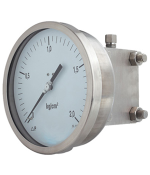 Double  Diaphragm Differential Pressure Gauges